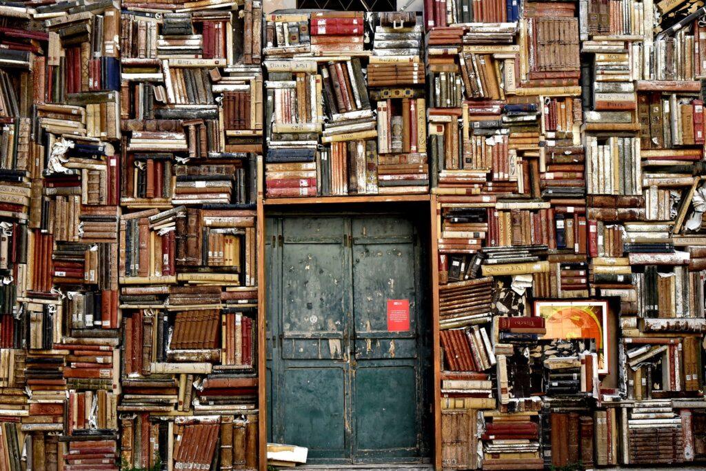 Mange bøger